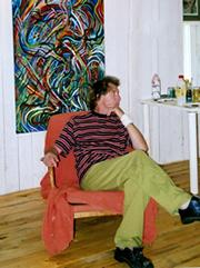 Artist Denis Taylor