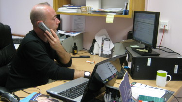 Orchid Male Cancer Nurse Specialist - Rob on the phone